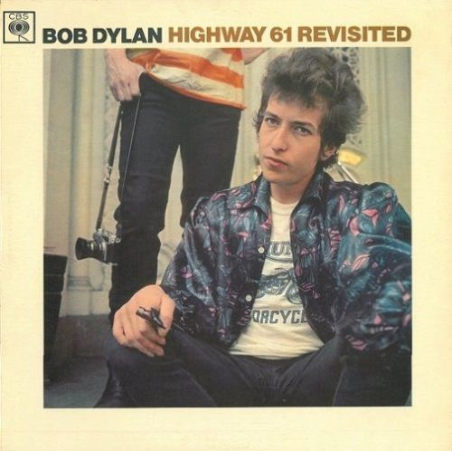 BOB DYLAN Highway 61 Revisited Vinyl Record LP CBS 1965